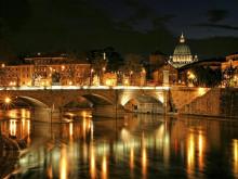 """Thành phố Rome mất đi """"lãng mạn' thay vào đó """" rực"""" ánh sáng LED"""