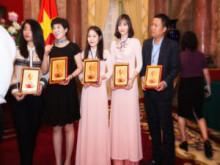 Công ty  Hoài Thương Organic nổi bật tại sự kiện tiếp kiến Phó Chủ tịch nước Đặng Thị Ngọc Thịnh