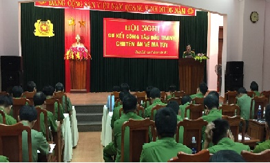 Quảng Bình: Lực lượng Công an lập nhiều thành tích trong đấu tranh triệt phá các vụ án về ma túy