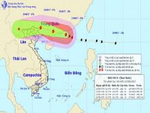 Ảnh hưởng bởi bão số 6, miền Bắc sắp mưa rất to