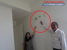 """Tranh chấp chung cư (TP. HCM) - Bài 1: """"Ngán ngẩm"""" chất lượng căn hộ cao cấp"""