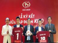 Hai tuyển thủ U23 trở thành Đại sứ Thương hiệu của Kido