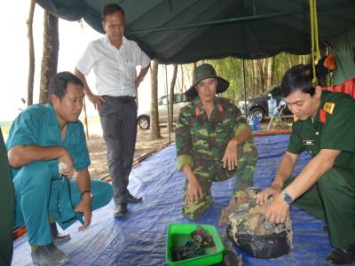 Bộ Chỉ huy Quân sự tỉnh Bình Dương: Cất bốc 14 bộ hài cốt liệt sĩ trong rừng cao su