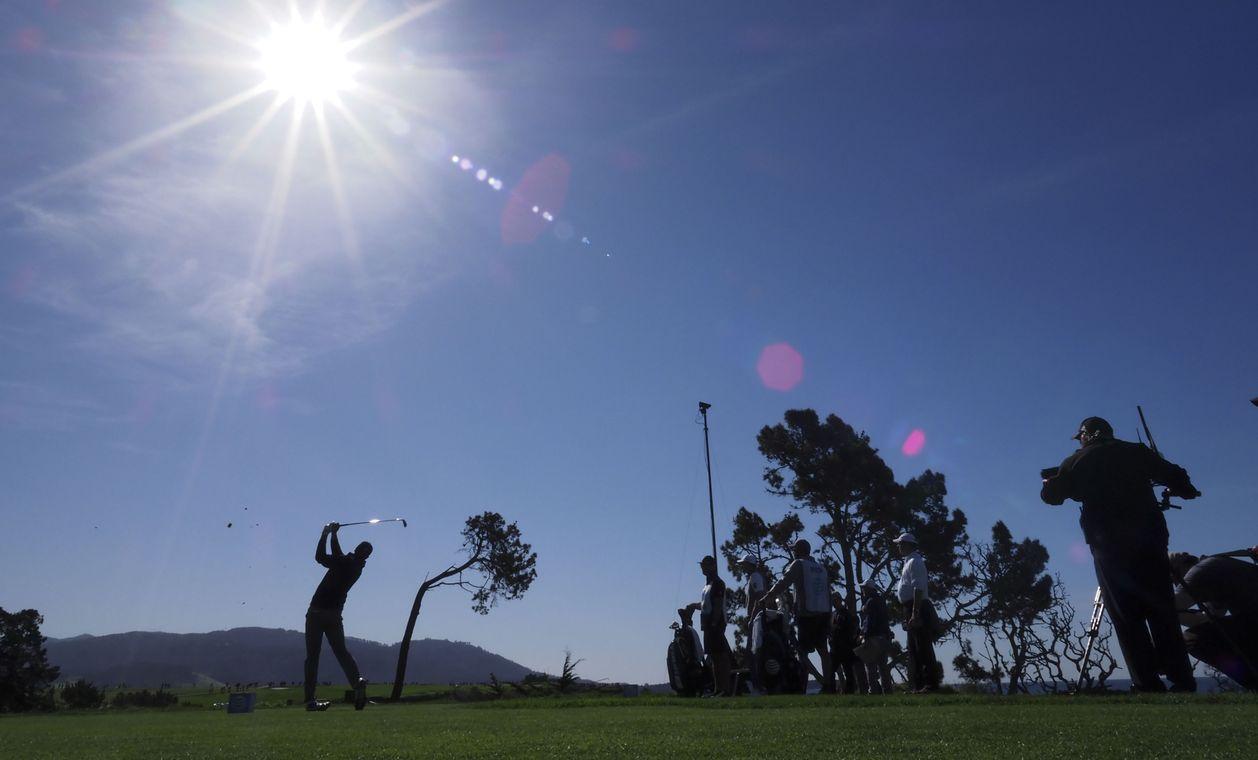 Những hình ảnh tuyệt đẹp tại AT&T Pebble Beach Pro-Am trên sân Pebble Beach Golf Links