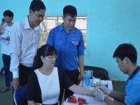 Đoàn Thanh niên Công ty Cổ phần Nước - Môi trường Bình Dương hiến 162 đơn vị máu