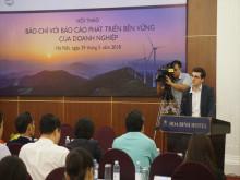 """Hội thảo """"Báo chí với Báo cáo phát triển bền vững của doanh nghiệp"""""""
