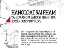 """Hàng loạt sai phạm tại 5 dự án của Satra bị Thanh tra Bộ Xây dựng """"tuýt còi""""?"""