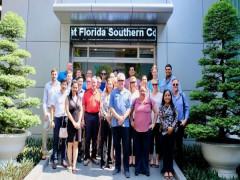 Phái đoàn MBA - Florida Southern College tham quan nhà máy An Cường tại Bình Dương