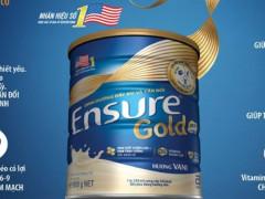 Ensure Gold mới với thành phần dinh dưỡng HMB