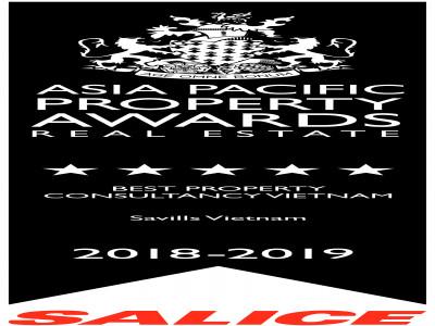 Savills Việt Nam giành hai giải thưởng Bất động sản châu Á – Thái Bình Dương 2018 – 2019