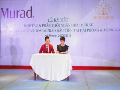 Muối Hồng Spa ký kết hợp tác  với thương hiệu mỹ phẩm uy tín nhất của Mỹ