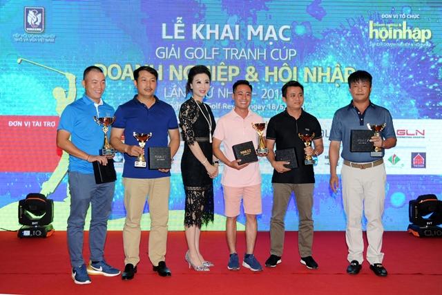 Giải Golf Doanh Nghiệp và Hội Nhập lần thứ nhất năm 2018