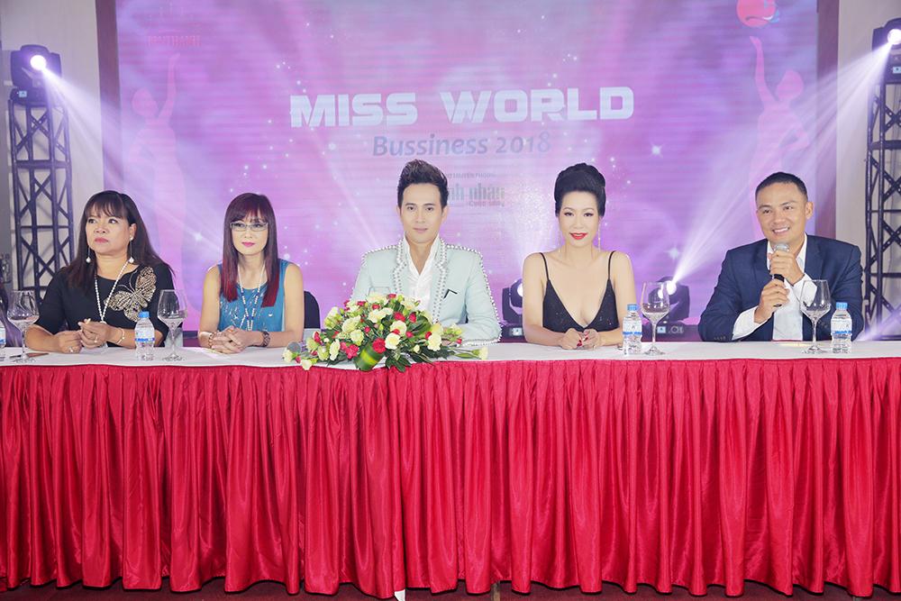 Trưởng BTC Hoa hậu Thế giới Doanh nhân 2018 muốn cuộc thi mang tầm quốc tế