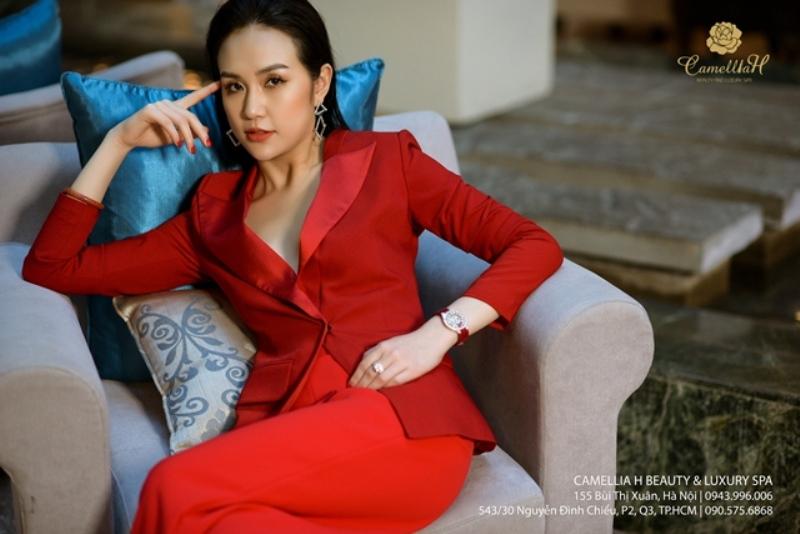 Doanh nhân Trần Thu Hương và thương hiệu Camellia H Beauty & Luxury spa