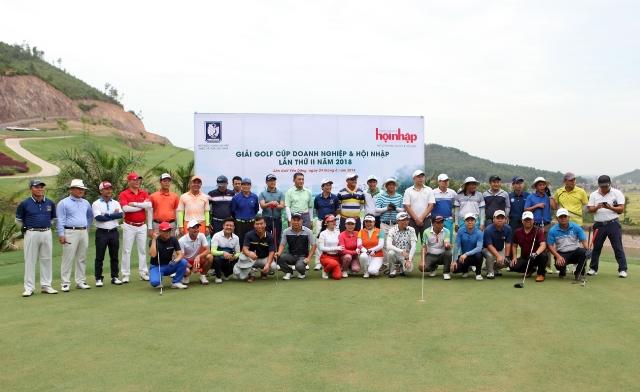Giải Golf tranh cúp Doanh nghiệp & Hội nhập lần II 2018: Địa hình độc đáo, đường golf đa dạng