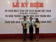 Hội Nhà báo tỉnh Thanh Hóa kỷ niệm 93 năm Ngày Báo chí Cách mạng Việt Nam