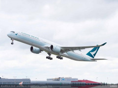 Cathay Pacific khai thác máy bay A350-1000