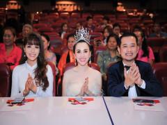 Hoa hậu Doanh nhân Hoàn Vũ  Châu Ngọc Bích nổi bật khi làm giám khảo Miss World Business 2018