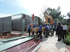 Hàng chục dự án, công trình xây dựng trái phép tại cụm công nghiệp chưa cấp phép