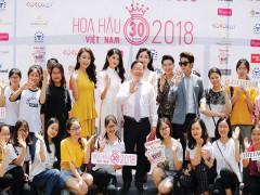 Chuẩn bị sơ khảo cuộc thi Hoa hậu Việt Nam