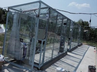 Dàn sấy khô cá năng lượng mặt trời: Tăng sản lượng gấp 3 lần