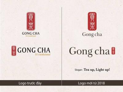 Gong Cha thay đổi Bộ nhận diện Thương hiệu mới