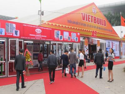 Hơn 2.500 gian hàng tham gia Triển lãm Vietbuild 2018