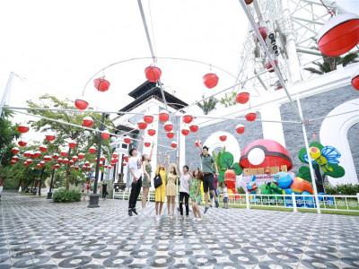 Lễ hội đèn lồng lớn nhất Đà Nẵng: Khán giả nhí mê mẩn không muốn về