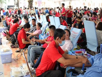 Tiếp nhận 1.500 đơn vị máu tại Ngày hội hiến máu Tp.HCM