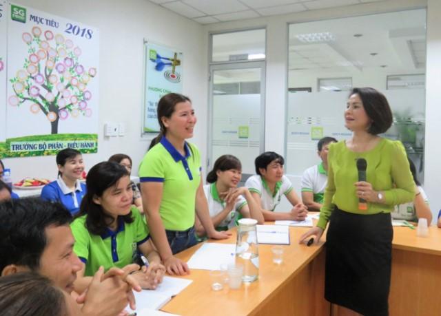 Phó Tổng giám đốc Sài Gòn Food Lê Thị Thanh Lâm: Nơi làm việc phải là nơi đáng sống