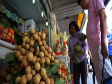 """Rau quả Thái """"mượn"""" Việt Nam xuất qua Trung Quốc"""