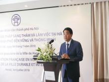 Hà Nội cam kết tạo điều kiện cho các DN Pháp tham gia đầu tư cùng phát triển