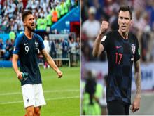 Giroud và Mandzukic - World Cup ghi dấu những tiền đạo chân gỗ
