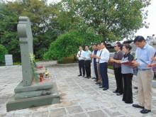 Hiệp hội doanh nghiệp tỉnh Thanh Hóa: Viếng nghĩa trang liệt sĩ Hàm Rồng