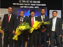 Công trình sáng tạo của Than Núi Béo đạt  hạng Nhất Hội thi sáng tạo kỹ thuật toàn quốc lần thứ 14
