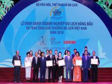 85 doanh nghiệp nhận Giải thưởng Du lịch Việt Nam 2018