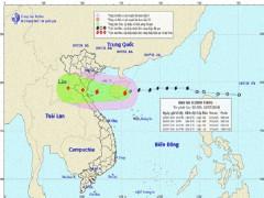 Tối nay bão Sơn Tinh giật cấp 10 đổ bộ vào các tỉnh Bắc Trung Bộ