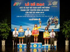 Kết quả chung cuộc giải đua xe đạp nữ do Tập đoàn Tân Hiệp Phát tài trợ