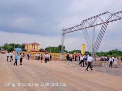 Dự án Diamond City (Thái Nguyên): Tự ý phân lô bán đất để trục lợi?