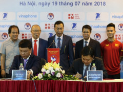 VNPT tài trợ chính giải bóng đá Quốc tế U23- Cúp Vinaphone 2018