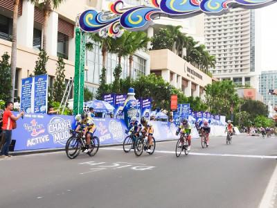 Khai mạc giải đua xe đạp nữ toàn quốc mở rộng tranh cúp Truyền hình An Giang lần 19