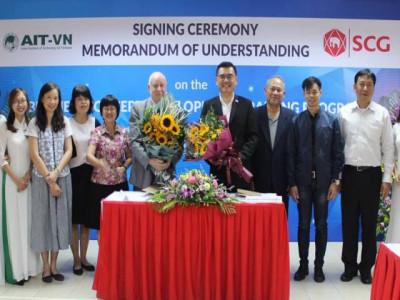"""SCG """"bắt tay"""" với AIT-VN đào tạo các nhà quản lý trẻ  tại Việt Nam"""