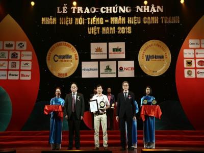 Nhãn hàng sữa Cô Gái Hà Lan đạt Top 10 nhãn hiệu nổi tiếng Việt Nam năm 2018