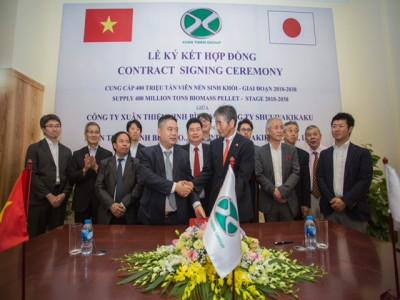Thương vụ lịch sử của ngành Nông nghiệp Việt Nam:  400 triệu tấn Biomass, 20 năm, trị giá 50 tỷ USD