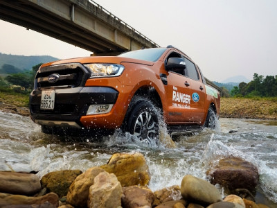 Ford Ranger đạt doanh số kỷ lục  tại khu vực Châu Á – Thái Bình Dương