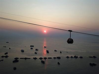 Ngắm Phú Quốc đẹp ảo diệu trong ánh hoàng hôn