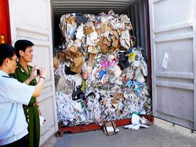 """""""Chặn"""" rác nhập khẩu bằng biện pháp hình sự"""