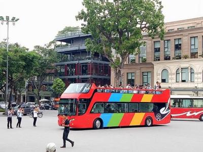 Tuyến buýt City tour: Thêm vé rẻ, tour đêm