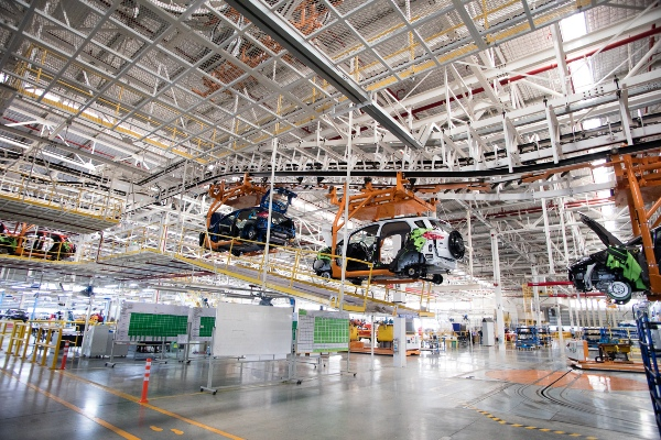 Ford đạt được mục tiêu giảm khí thải trong sản xuất nhanh gấp hai lần so với dự kiến