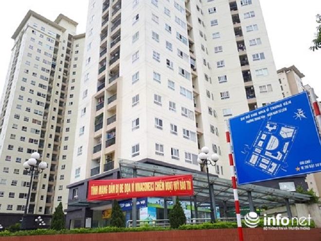 Vinaconex 3 phớt lệnh của UBND TP Hà Nội, chây ì chiếm giữ quỹ bảo trì